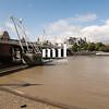 The Golden Jubilee Bridge in London