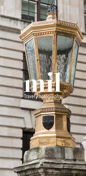Old Lamp in the City of London