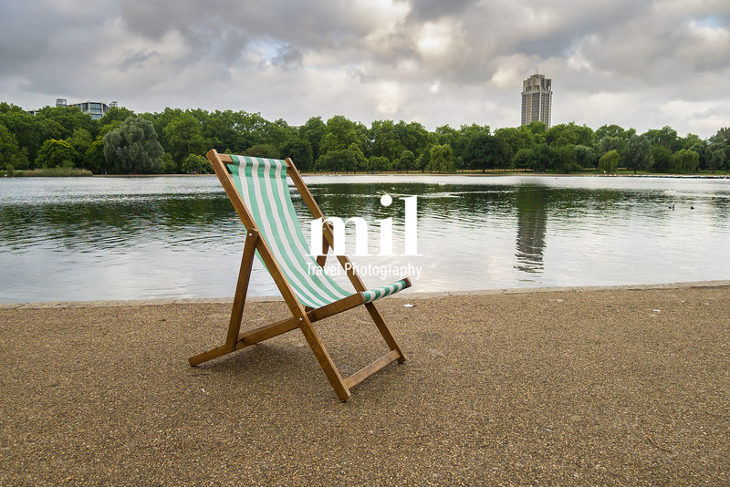 Deck Chair by the Serpentine