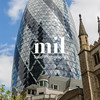 Business and Financial District of London - The Gherkin Building