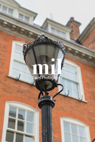Original Gas Lamp in London