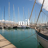 Boats in the marina in Palma Majorca