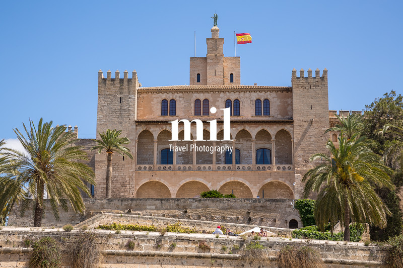 Old Building in the old town of Palma Majorca