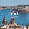 The skyline of Valetta