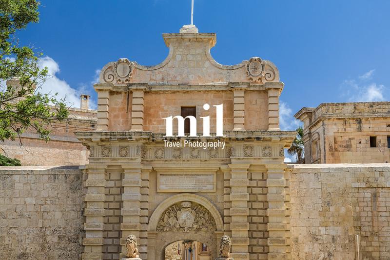 The Silent City of Mdina on Malta