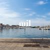 The marina in Marseille