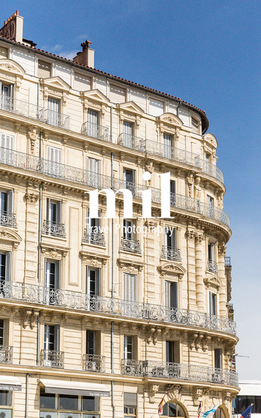Traditional French Architecture in Marseille