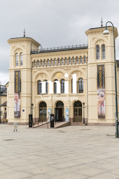 Nobel Peace Building in downtown Oslo