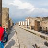 Ancient Roman Street in Pompeii