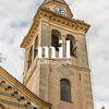 Church Tower in Portofino in Italy