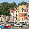 Close up of Portofino harbour