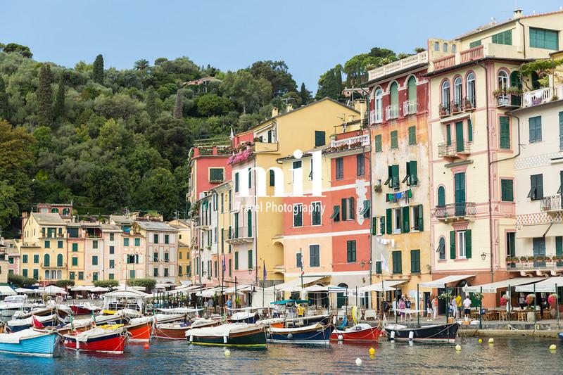 Close up of Portofino harbour