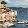 The pretty town of Portofino in Italy