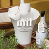 White Moet Chandon Bottle and Bucket