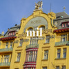 Hotel on Wenceslas Square in Prague
