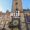 Astronomical Clock in Pargue in Czech Republic