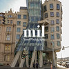 The Dancing House or Wonky Building in Prague