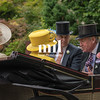 Queen, Princess Anne and Prince Andrew en route to Royal Ascot 2018