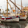 Boats in the Harbour in Sanary Sur Mer