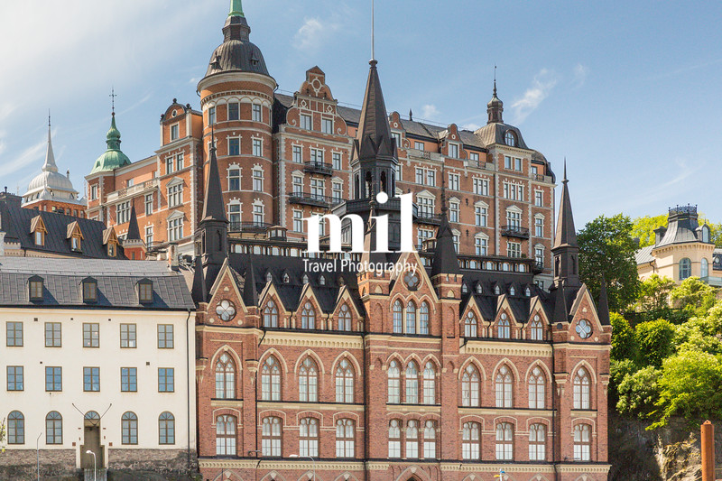 Traditional Swedish Architecture in Stockholm