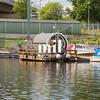 Old Swedish Boat in Stockholm
