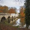 Autumn at Virginia Water in the UK