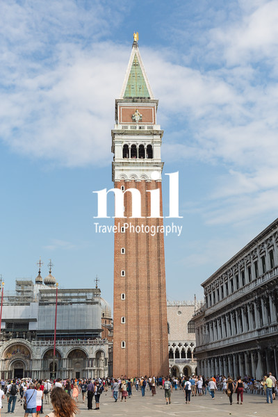 The Campanile at St Mark's Square
