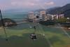 Ngong Ping 360 aerial tramway, Lantau Island, Hong Kong.  October 2008