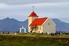 Church at Kolbeinsstaðir, Iceland. October 2013