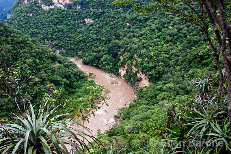 The caves, high cliffs, rapids, and intact jungle make the Rio La Venta Canyon one of the best places for adventure travel in Chiapas.