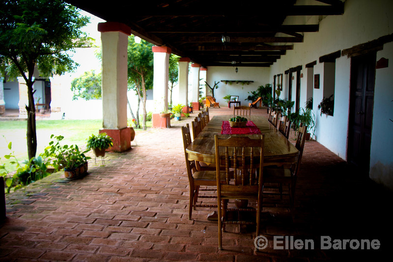 Enjoy a relaxing stay at the historic Hacienda la Valdiviana, a gracious family home in the Cintalapa region.