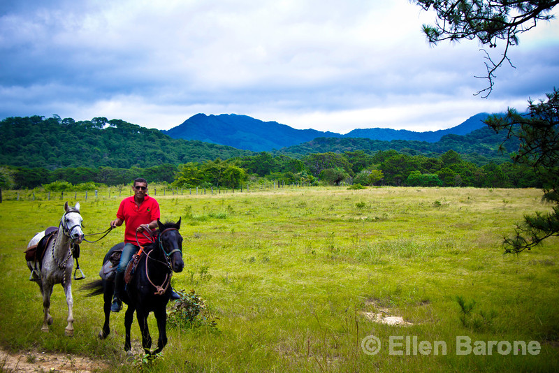 Equestrian guide, Oliverio Frances Meyer, arrived in Mexico from France some thirty years ago and has been guiding horseback riding expeditions for Enduro Ecuestre for more than a decade.