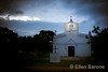 Family chapel at dawn, Hacienda la Valdiviana in the historic Cintalapa region of Chiapas, Mexico.
