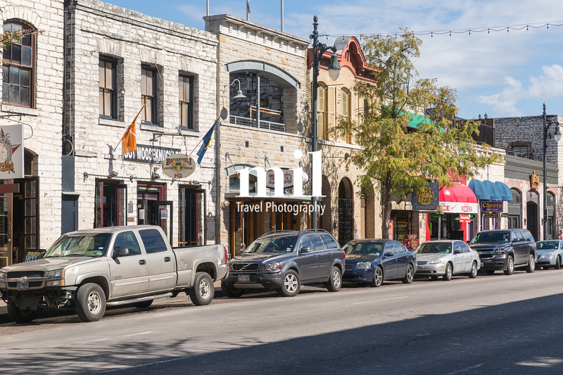 Austin street scenes in Texas