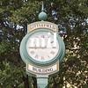 Austin street scenes in Texas - old clock