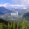 The View from Sulphur Mountain in Banff