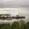Frenchman Bay at dusk at Bar Harbor Maine USA