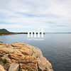 Otter Cliff Overlook in Acadia National Park in Acadia National Park USA