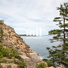 Otter Cliff in Acadia National Park USA