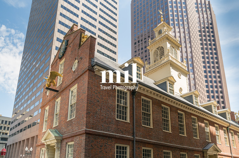 Old State House in Boston Freedom Trail
