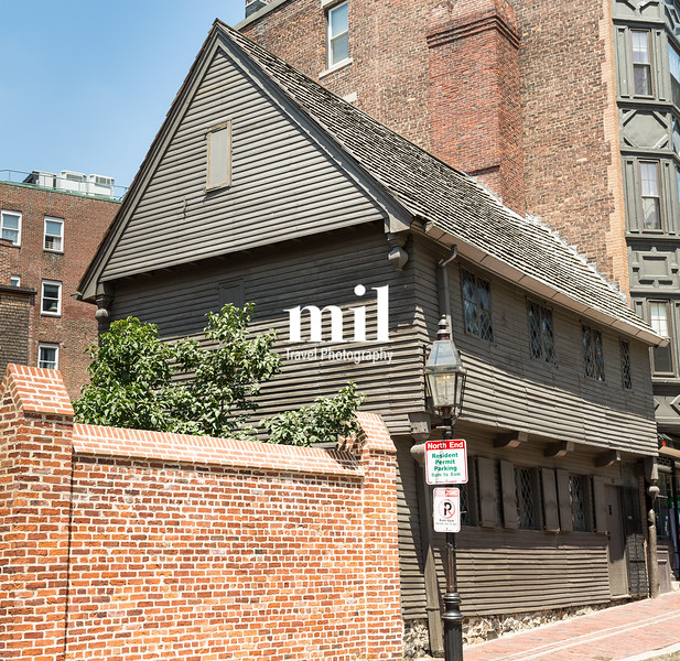 Paul Revere House in Boston on Freedom Trail