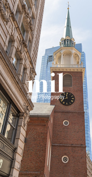 Old South Meeting House in Boston Freedom Trail