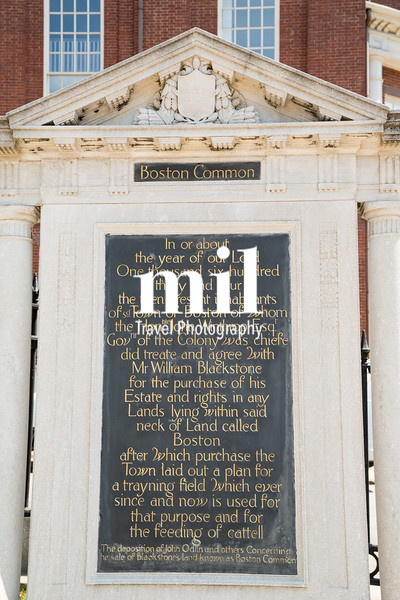 Boston Common and start of the Freedom Trail