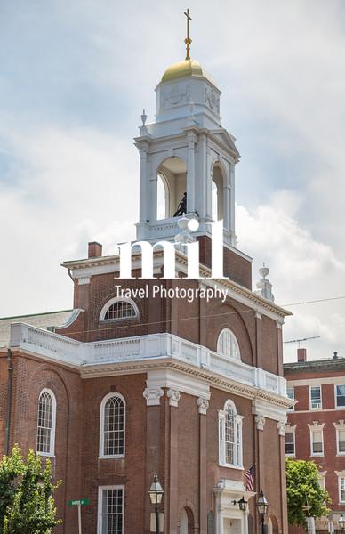 Old Church on Freedom Trail in Boston