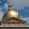Massachusetts State House on Boston Freedom Trail