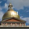 Massachusetts State House on Boston Freedom Trail