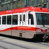A tram in Calgary