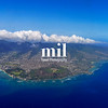 Honolulu and Diamond Head Aerial View
