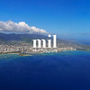 Honolulu and Diamond Head Aerial View