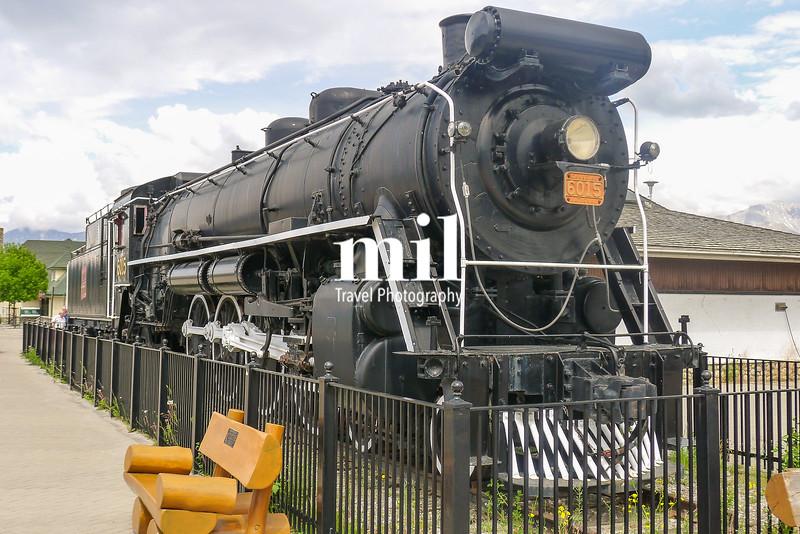 The old railroad through Jasper